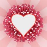 Heart frame Stock Photos