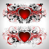 Heart frame Stock Photography