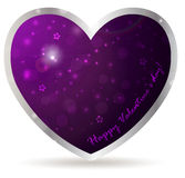 Heart frame with abstract background Royalty Free Stock Photo