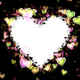 Heart Frame Stock Photo