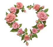 Heart frame. Royalty Free Stock Photo