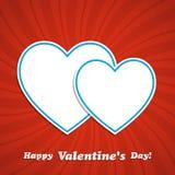 Heart frame Stock Image