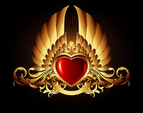Heart frane Stock Photography