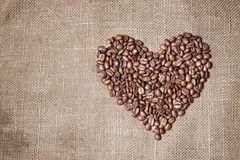 Free Heart From Coffee Beans Stock Photo - 22893670