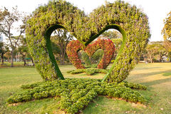 The Heart Garden Stock Image