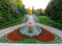 The heart garden Stock Image