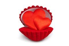 Heart&gift配件箱6 免版税库存照片