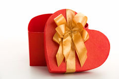 Heart gift Royalty Free Stock Photos