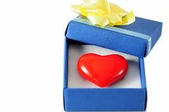 Heart gift Stock Photos
