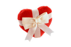 Heart gift Stock Image