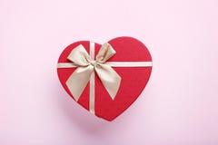 Heart gift box Stock Photo