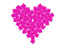 Heart of gift boxes Royalty Free Stock Photo
