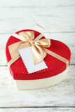Heart gift boxes Royalty Free Stock Photography