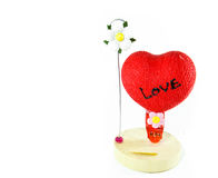 Heart gift. For day of love Royalty Free Stock Images