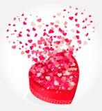 Heart Gift Present Stock Photos