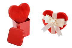 Heart gifts Royalty Free Stock Image
