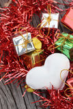 Heart and gifts Royalty Free Stock Photo