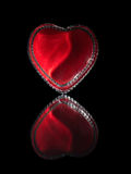 Heart of Glass Stock Photo