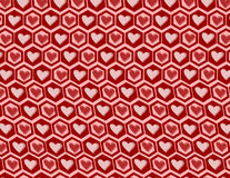 Heart graphics pattern. Hearts pattern seamless background for your design stock illustration