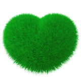 Heart From Grass Royalty Free Stock Images