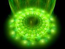 The heart of green mandala