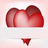 Heart - greeting card Stock Photos
