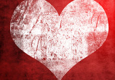 Heart grunge Royalty Free Stock Photo