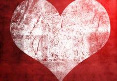 Heart grunge. Shape of heart grunge background Royalty Free Stock Photo