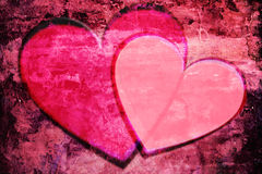 Heart Grunge Stock Images