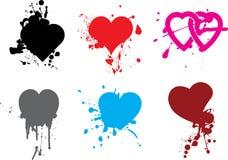 Heart_grunge Imagem de Stock Royalty Free