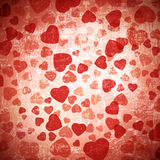 Heart grunge background Royalty Free Stock Photography