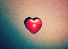 Heart on grunge background Royalty Free Stock Image