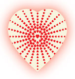 Heart-halftone Stock Photos