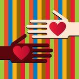 Heart hand Royalty Free Stock Photo