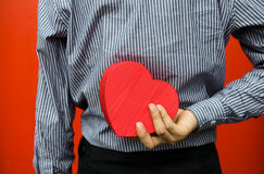Heart in hand Stock Image