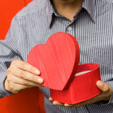 Heart in hand Stock Photography