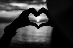 Heart Hand. Royalty Free Stock Photo