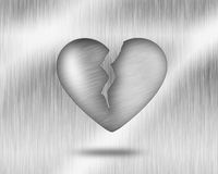Heart on hand fly Royalty Free Stock Photography