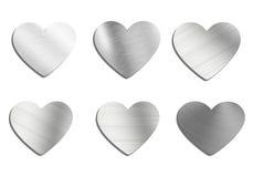 Heart on hand fly Stock Photos