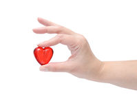 Heart in the hand Stock Photos