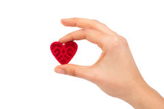 Heart in hands Royalty Free Stock Photo