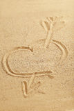 Heart handwritten Stock Images