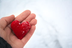 Heart. Happy Valentine`s Day emotions for lovers Royalty Free Stock Images