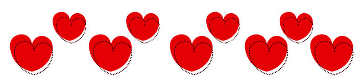 Heart  heading Stock Images