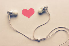 Heart and headphones