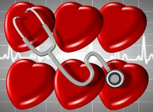 Heart health Royalty Free Stock Images
