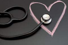 Heart health. Background to medicine royalty free stock photo
