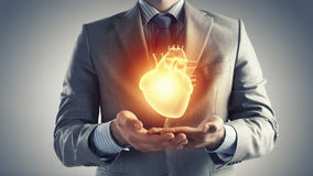 Heart health Royalty Free Stock Image