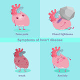 Heart with health concept Stock Image