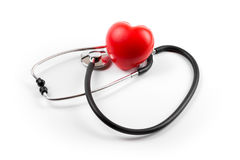 Heart health concept isolated on white. Background royalty free stock images